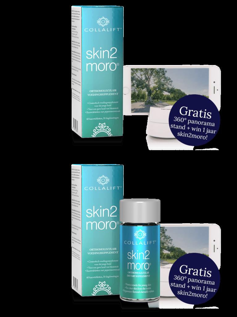 Collalift Skin2Moro, nu met gratis 360 standaard en kans op 1 jaar GRATIS skin2moro!
